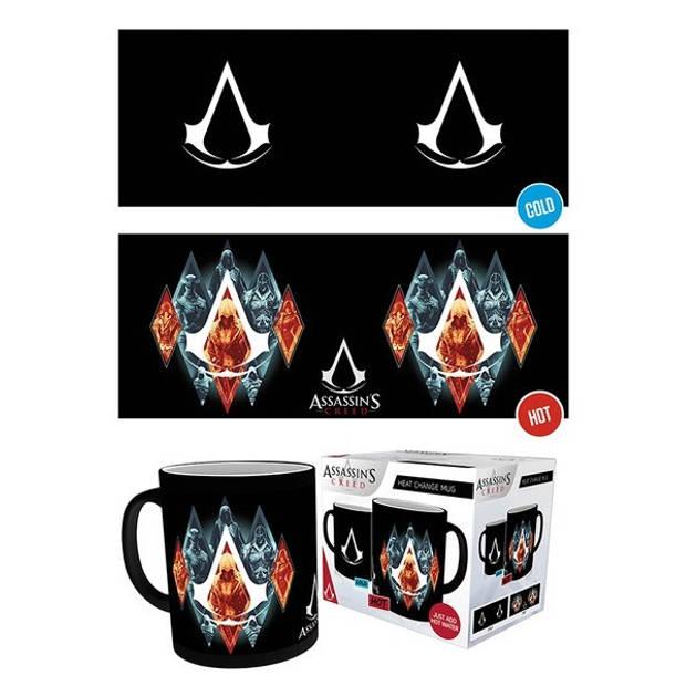 GB eye warmtemok Assassins Creed Legacy zwart 300 ml