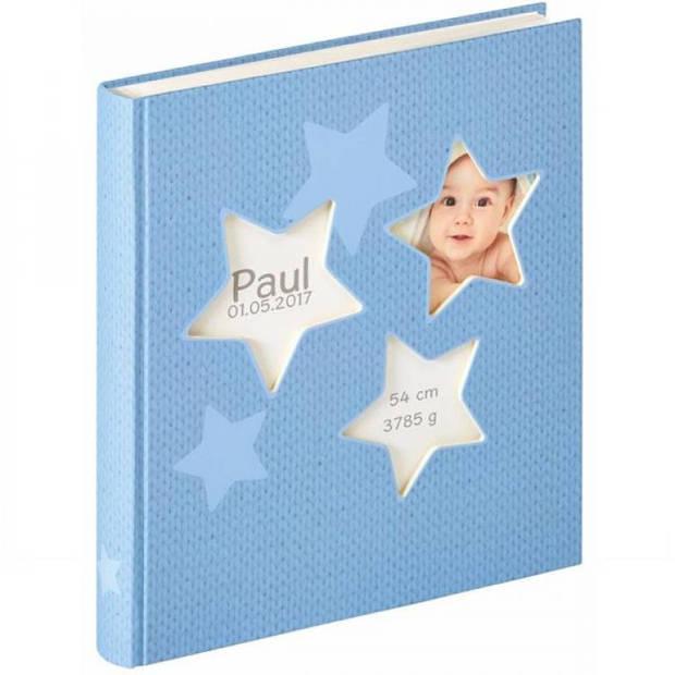 Walther Estrella babyalbum blauw