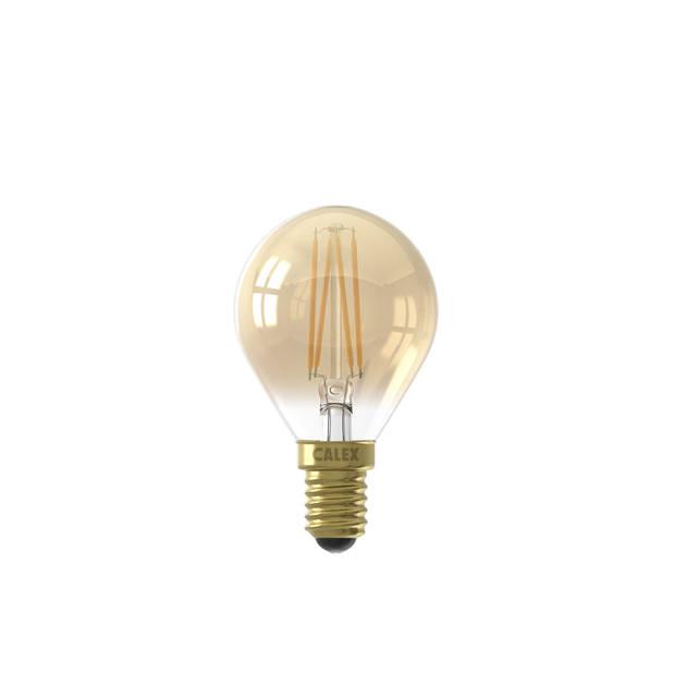 Calex Led Kogellamp Dimbaar - 3,5w - E14 - Goud