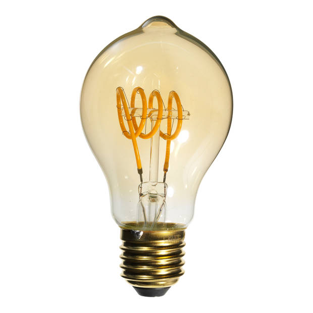 Calex Led Flex Standaardlamp Dimbaar - 4w - E27 - Goud