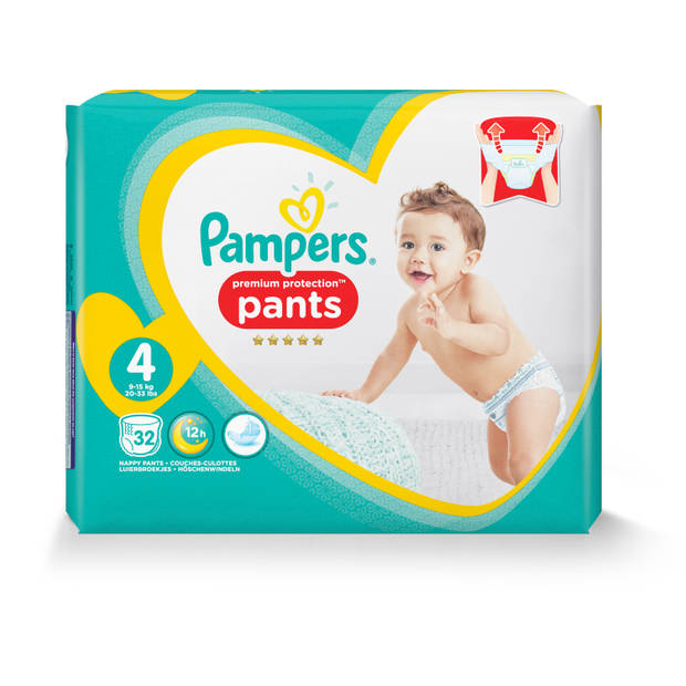 Pampers Premium protection Pants Valuepack Mt4