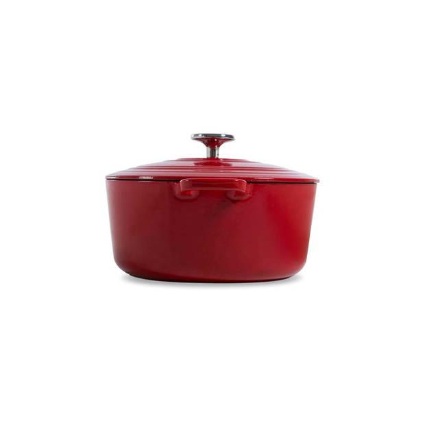 BK Bourgogne braadpan - ø 28 cm - chili red