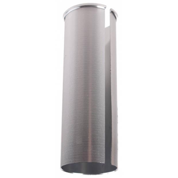 TOM vulbus 25,4/27,6 mm zilver