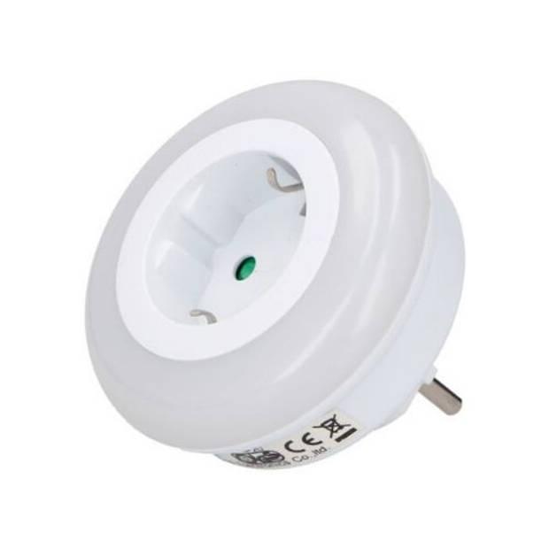 Grundig Nachtlamp met stopcontact LED 0.5W.