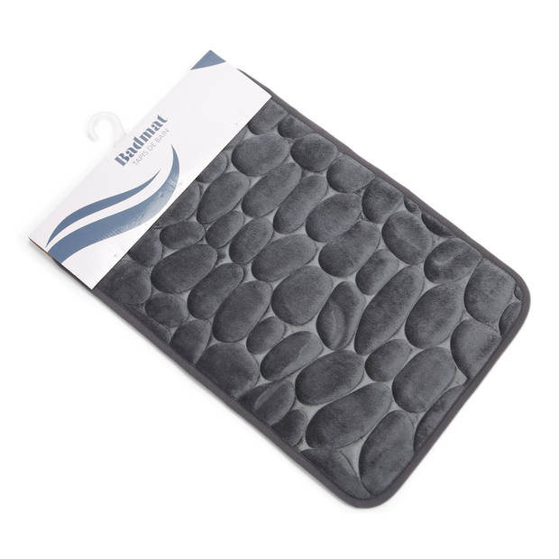 Memory Foam Badmat Grijs 40*60cm