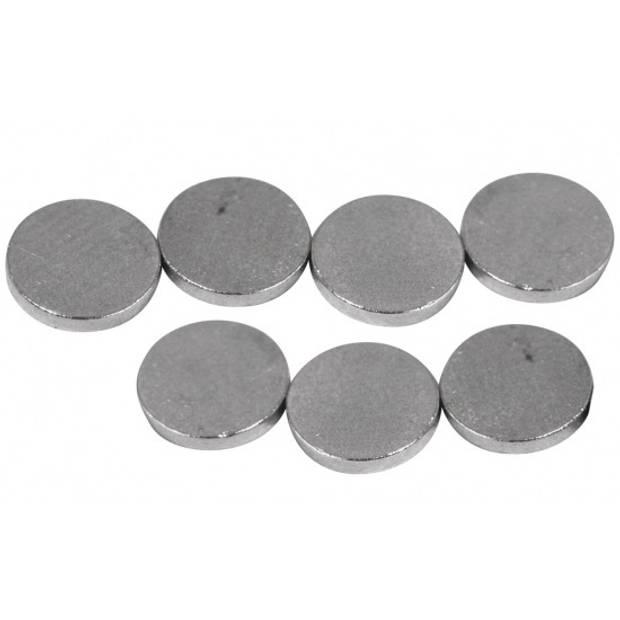 20 ronde magneten 6x1 mm