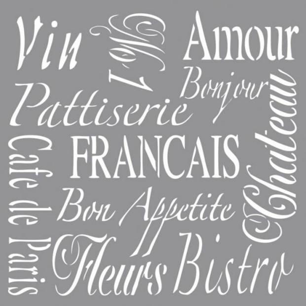 Franse teksten sjabloon