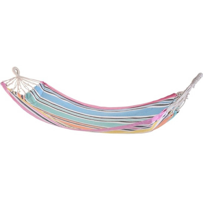 Hangmat Roze Rand 255 Cm - Hangmatten
