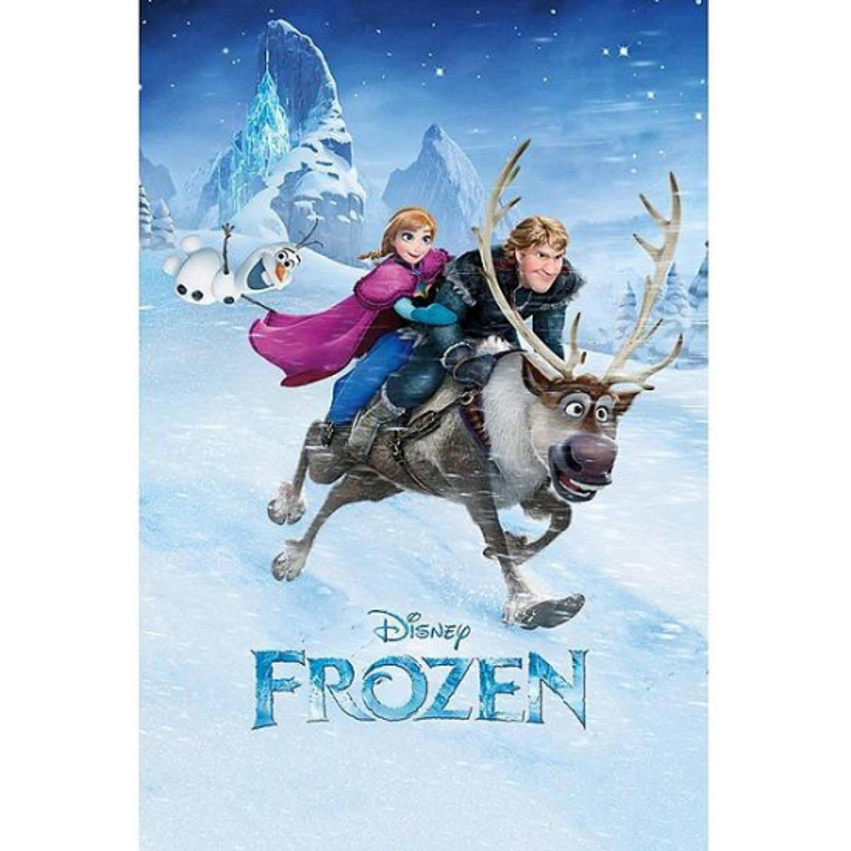 Poster Frozen ritje 61 x 91,5 cm