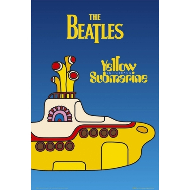 Poster The Beatles Yellow Submarine 61 X 91,5 Cm