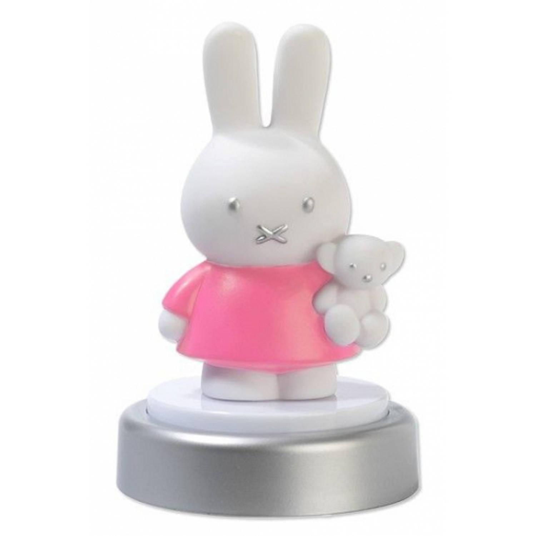 Nachtlampje Nijntje roze