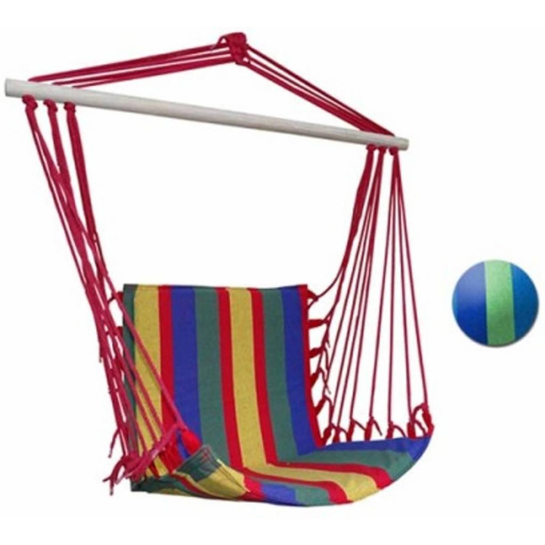 Hangmat Stoel Met Standaard.Premium Hangstoel Hangende Hangmat Stoel Zonder Standaard