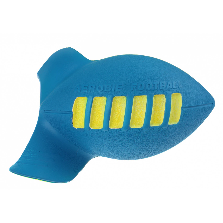 Afbeelding van Aerobie Football 23 cm geel/blauw