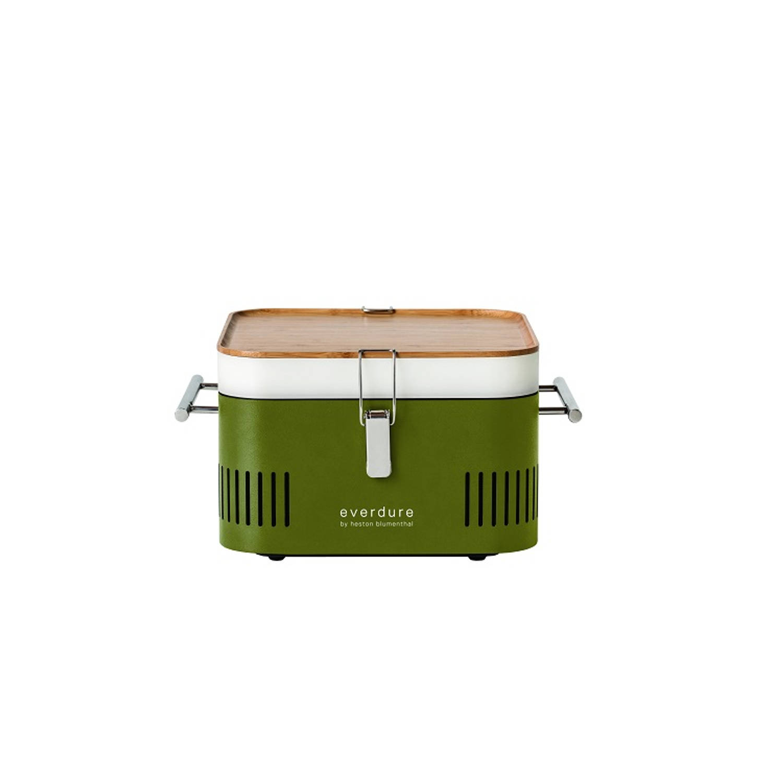 Houtskoolbarbecue Cube Khaki Everdure