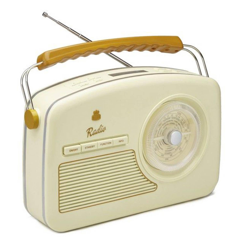 GPO Rydell Wekkerradio DAB+ Creme
