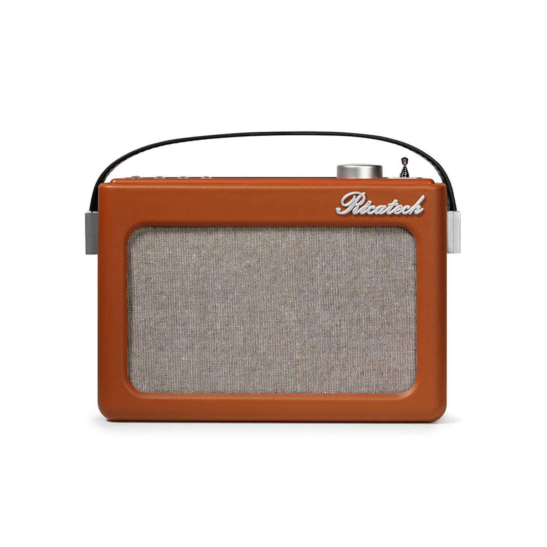 Ricatech Emmeline PR78 Retro Wekkerradio Cognac Bruin