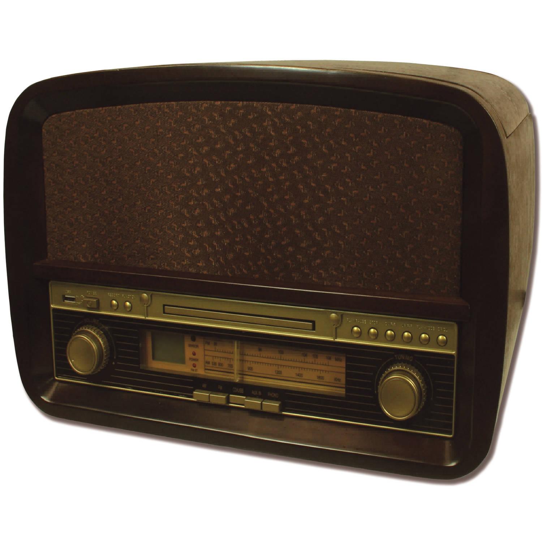 Camry CR 1112 Retro platenspeler + CD/USB/MP3 + Recorder systeem