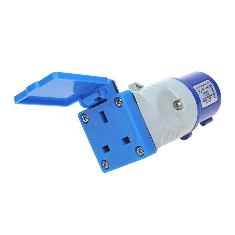 ProPlus verloopstekker van CEE naar UK-stopcontact 16A / 230 V