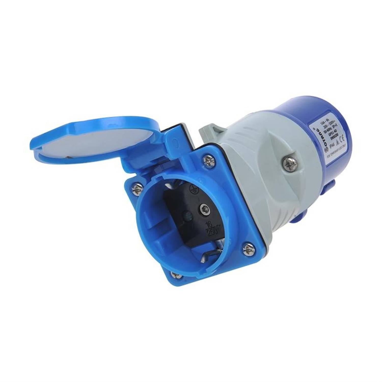 ProPlus verloopstekker van CEE naar Schuko-stopcontact 16A / 230 V