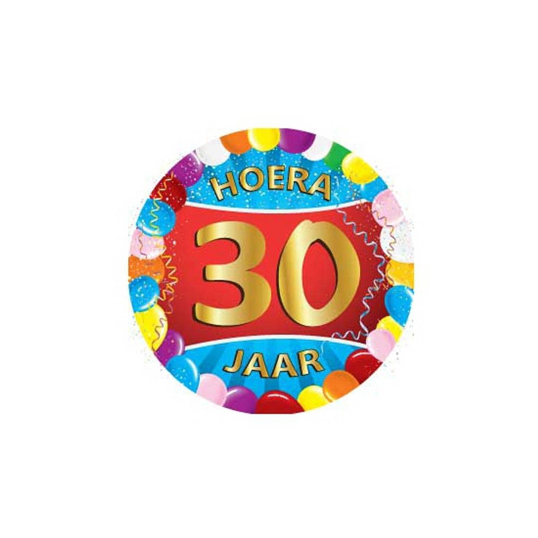 25x Stuks Bierviltjes/onderzetters 30 Jaar Verjaardag Feestartikelen En Versiering