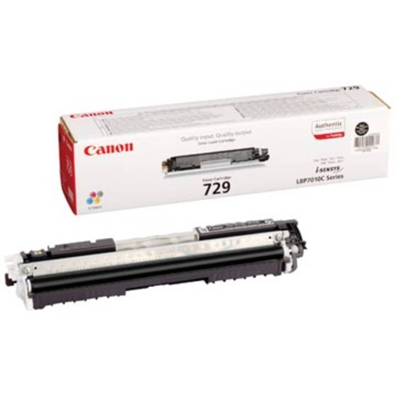 Canon Toner zwart 729BK - 1200 pagina's - 4370B002