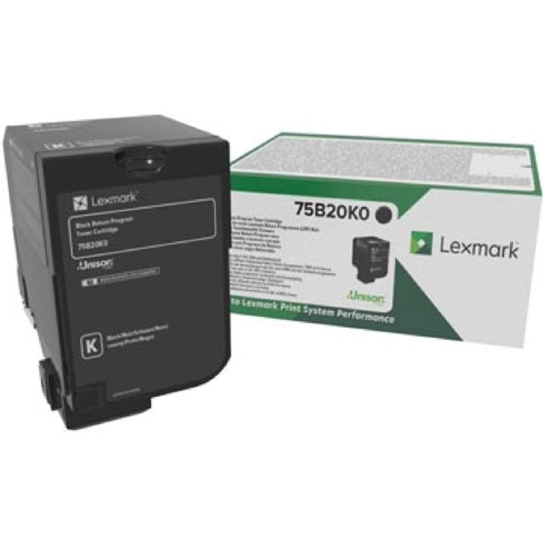 Lexmark toner zwart, 13.000 pagina's - OEM: 75B20K0