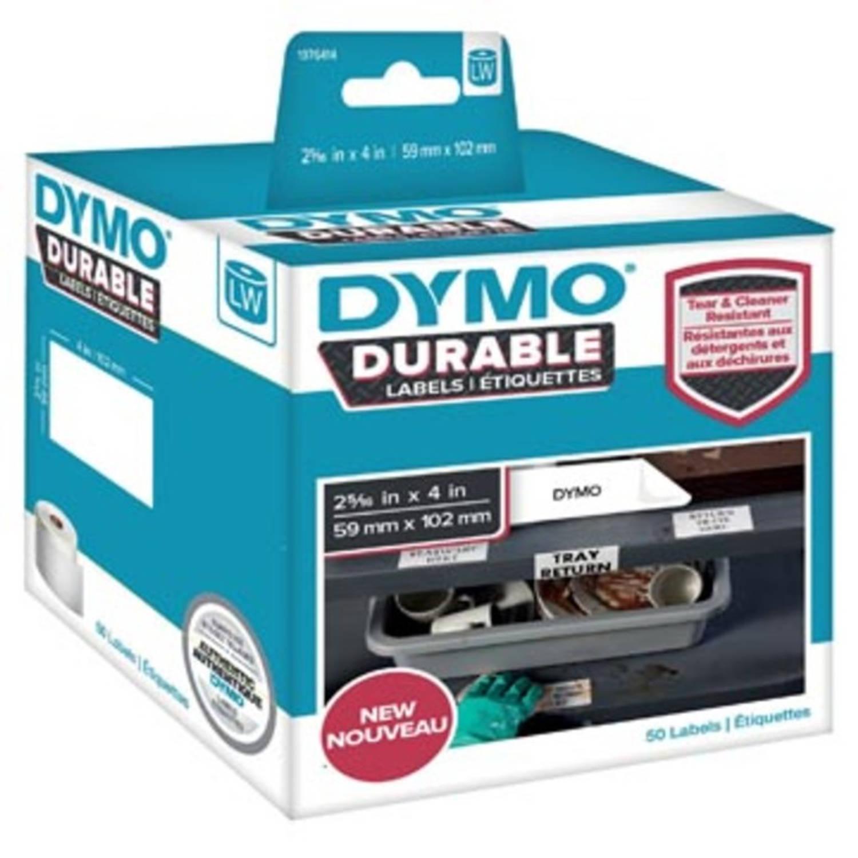 Dymo duurzame etiketten LabelWriter ft 59 x 102 mm, 50 etiketten