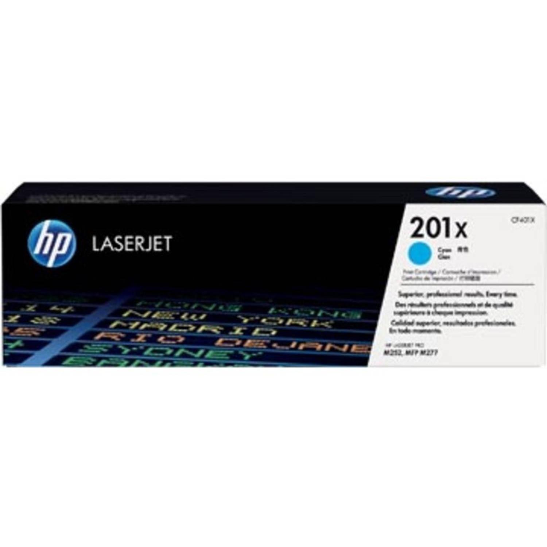 HP toner 201X cyaan, 2300 pagina's - OEM: CF401X