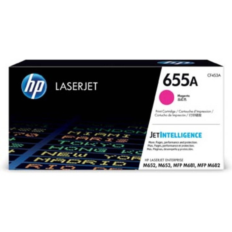 HP toner 655A magenta, 10.500 pagina's - OEM: CF453A