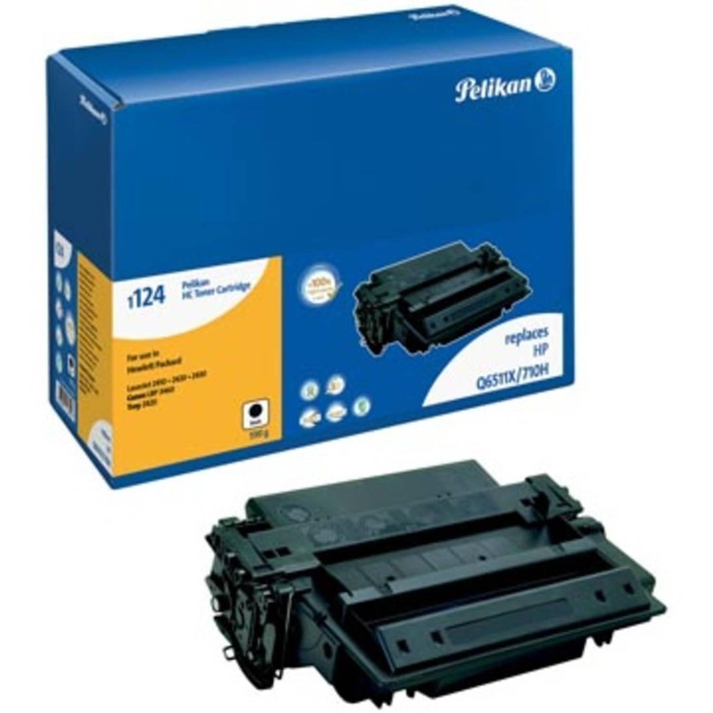 Pelikan toner zwart, 12000 pagina's voor HP 11X - OEM: Q6511X