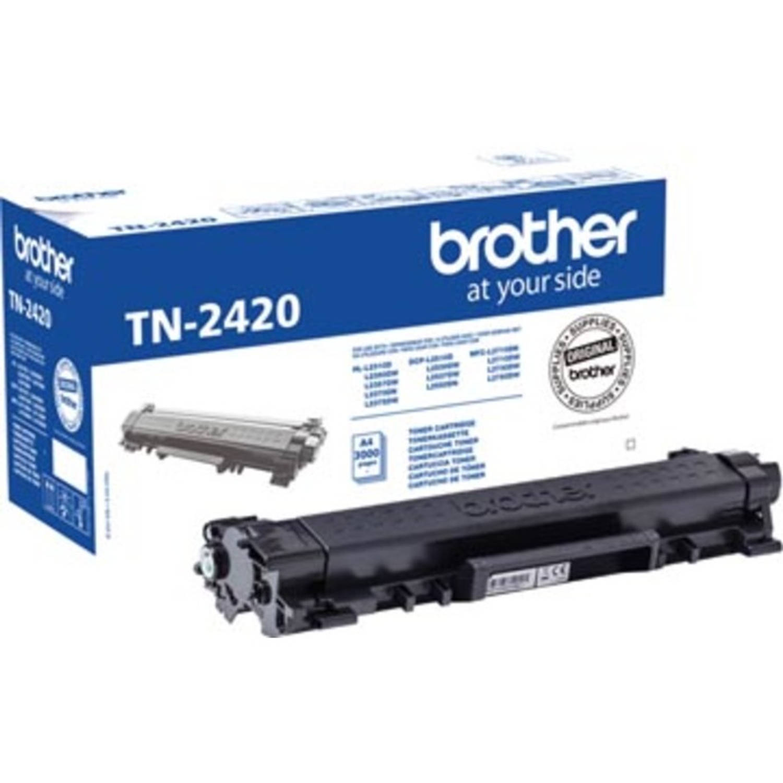 Brother toner zwart, 3.000 pagina's - OEM: TN-2420