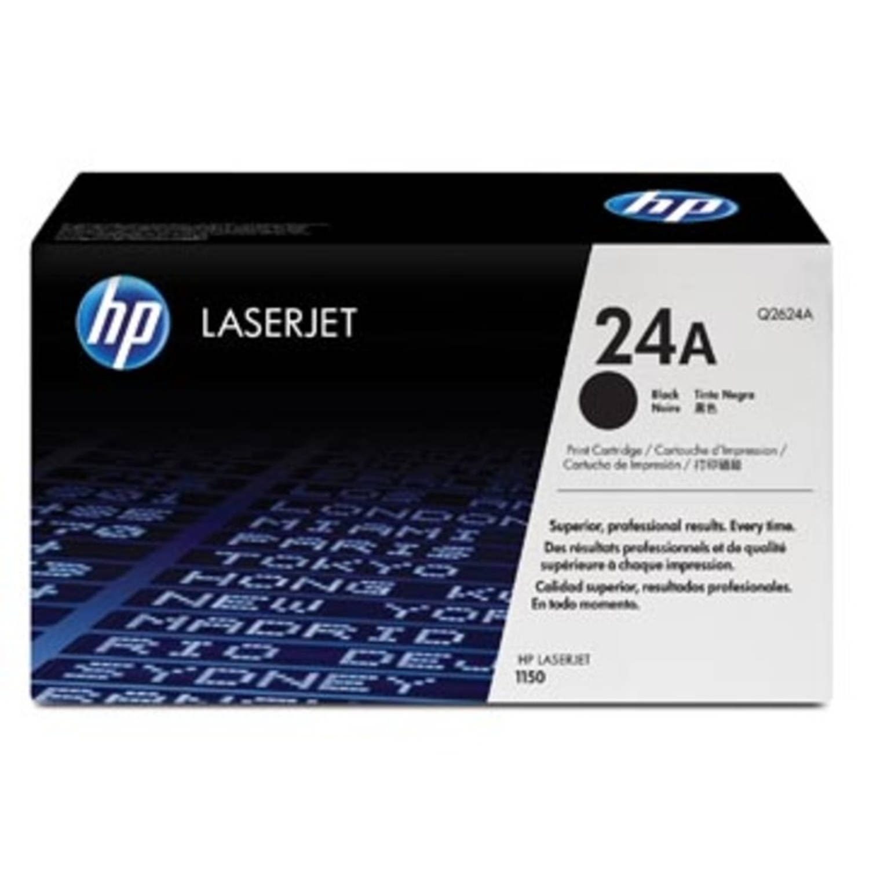 HP Tonercartridge zwart 24A - 2500 pagina's - Q2624A