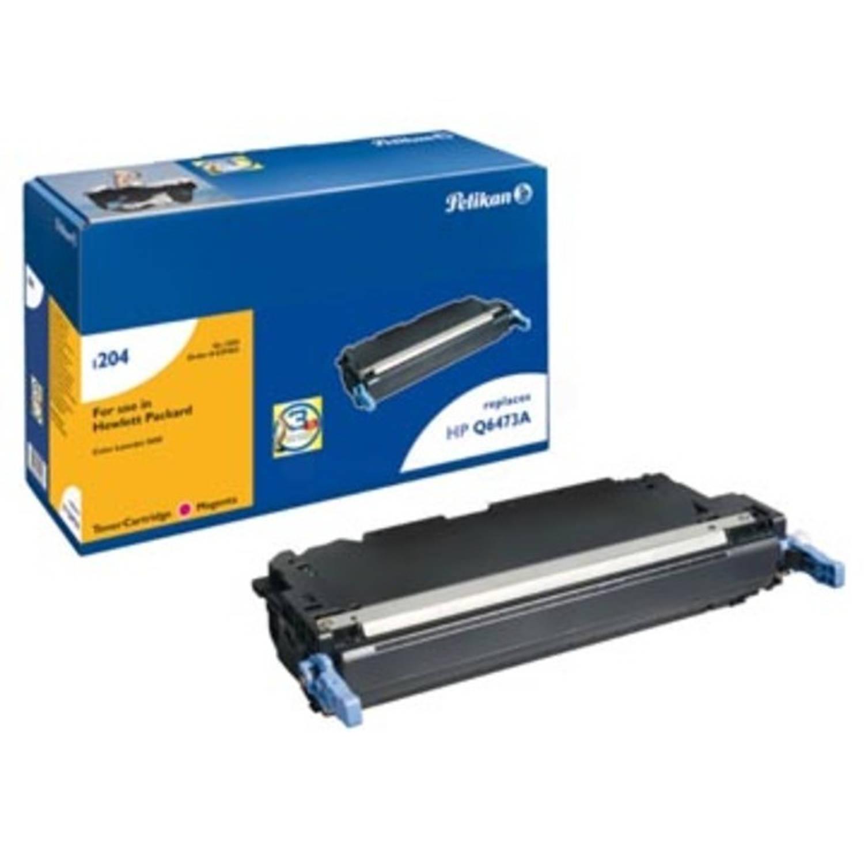 Pelikan toner magenta, 4000 pagina's voor HP 502A - OEM: Q6473A