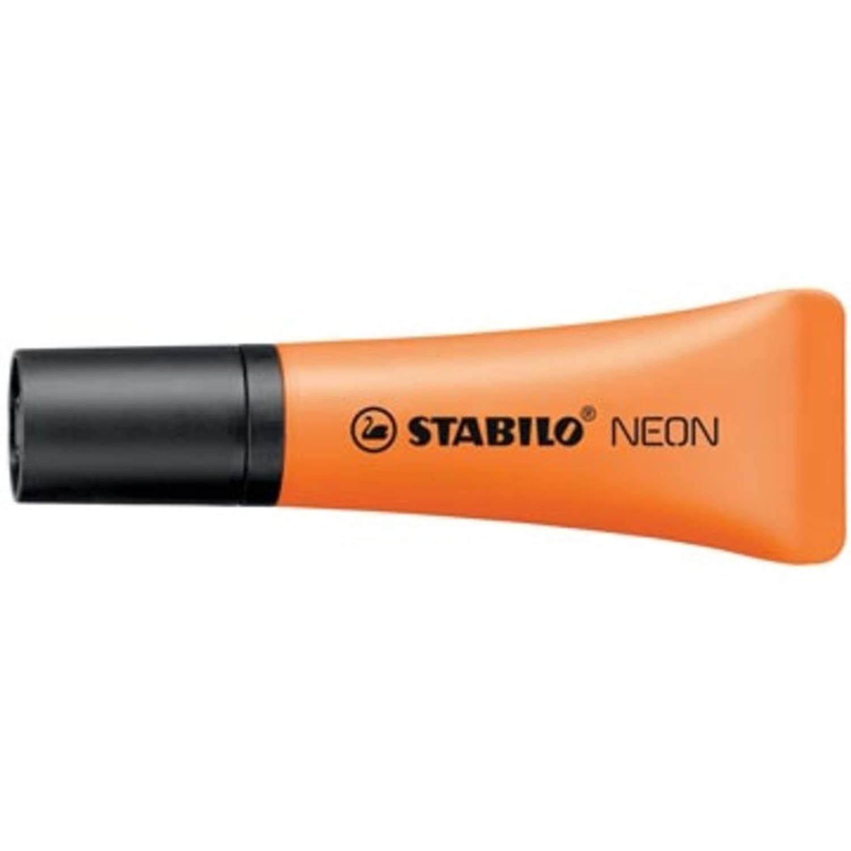 Korting Stabilo Markeerstift Neon Oranje