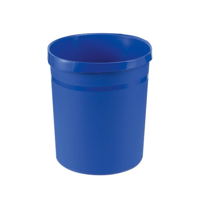 Papierbak Han Grip 18 Liter Met 2 Grijpranden Blauw