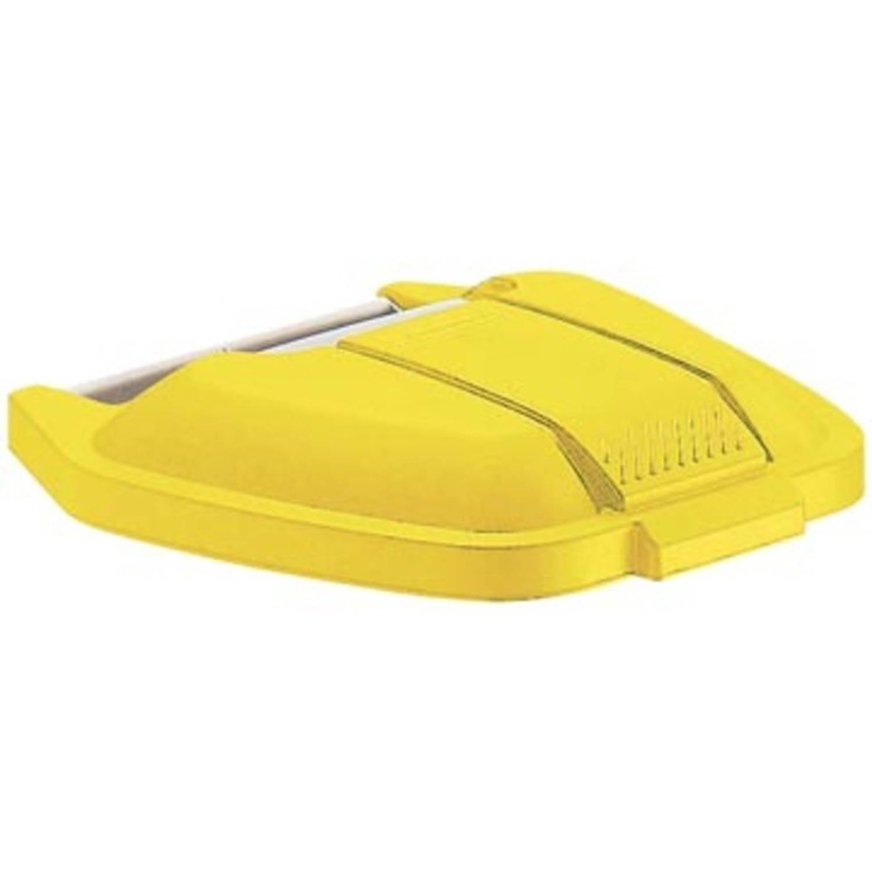 Rubbermaid deksel voor mobiele afvalcontainer Basis, geel