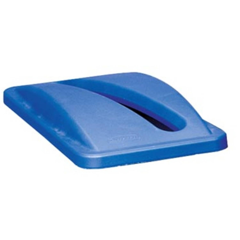 Rubbermaid Deksel Voor Afvalcontainer Slim Jim, Voor Papier, Blauw