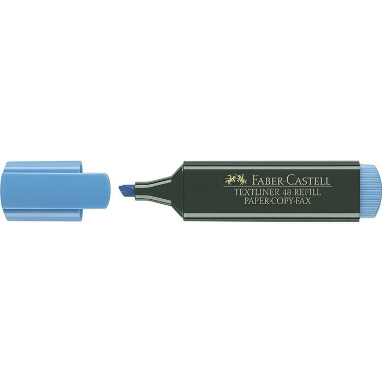 Korting Tekstmarker Faber Castell 48 Blauw