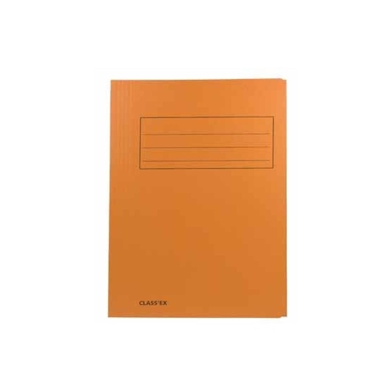 Korting Dossiermap 24 X 35 Cm Oranje