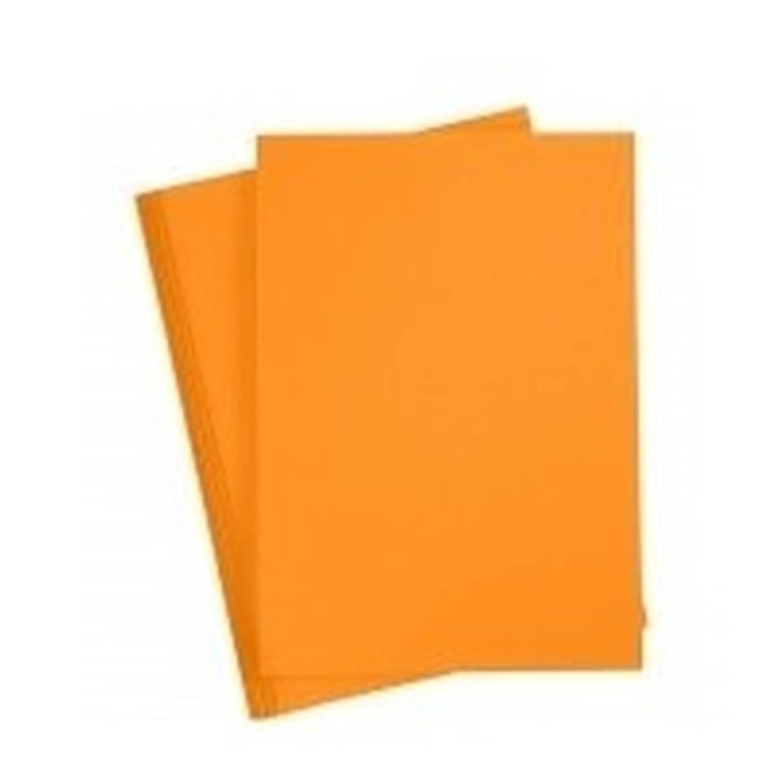Korting A4 Hobby Karton Oranje 180 Grams 1x