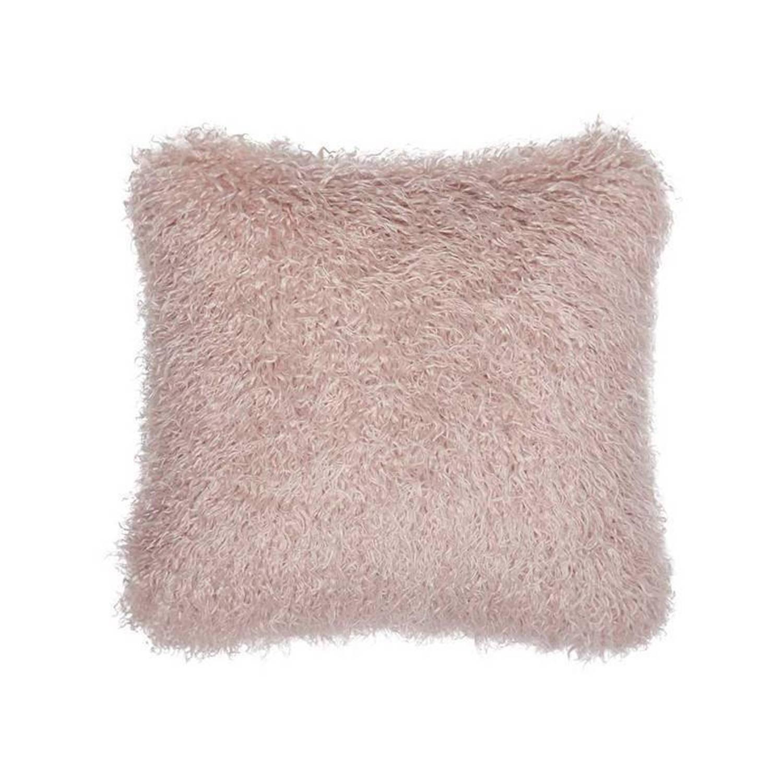 Essenza Vita sierkussen - 100% acryl - 45x45 cm - Roze