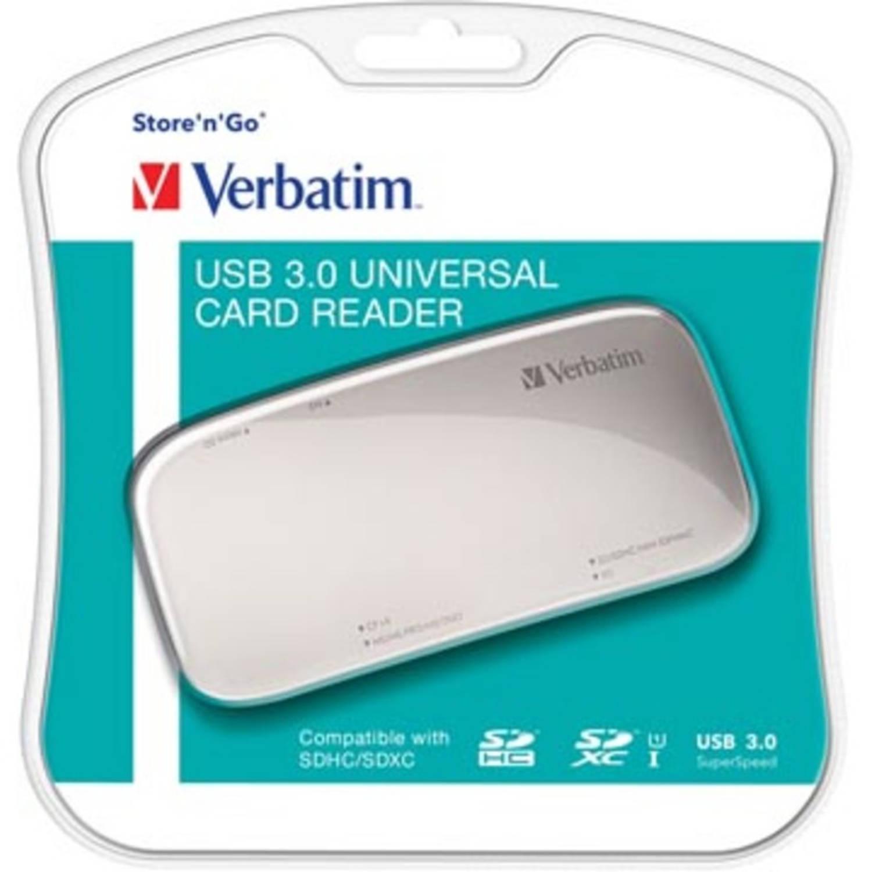 Verbatim USB 3.0 universele geheugenkaartlezer