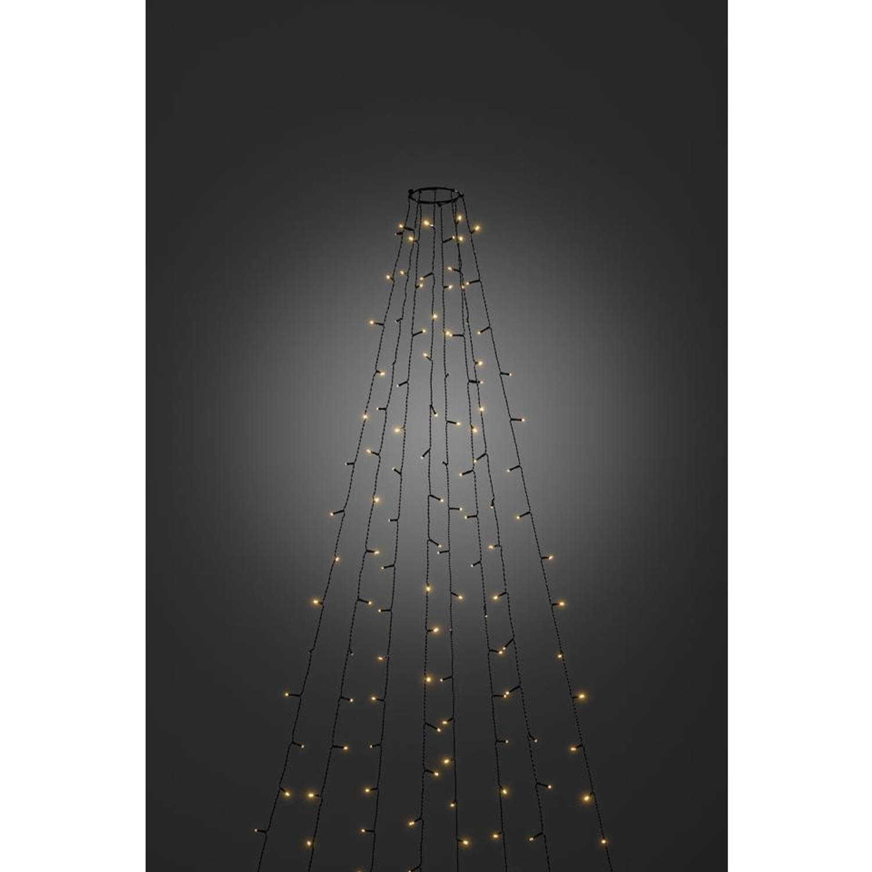 Konstsmide LED kerstverlichting boommantel met vuurvlieg effect - 4 meter
