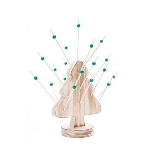 Cosy&Trendy Aperoset kerstboom + 25 prikkers