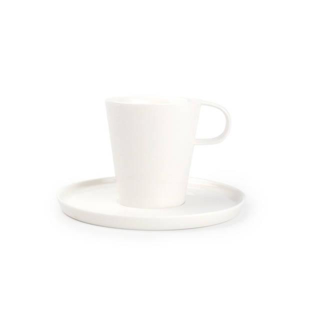 Yong Koffiekop Met Schoteltje Gusto 20 cl
