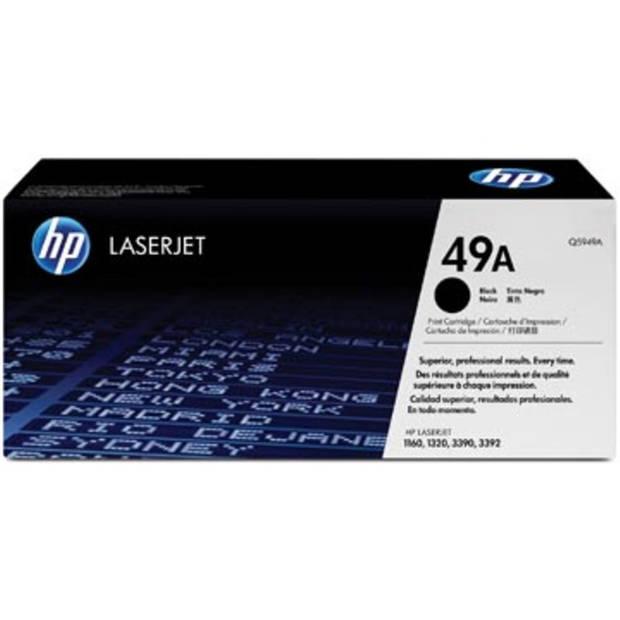 HP Tonercartridge zwart 49A - 2500 pagina's - Q5949A