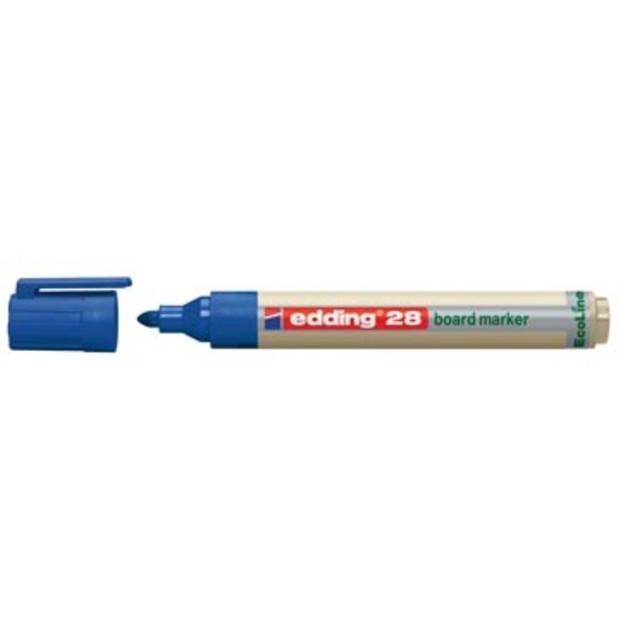Edding Whiteboardmarker Ecoline e-28 blauw