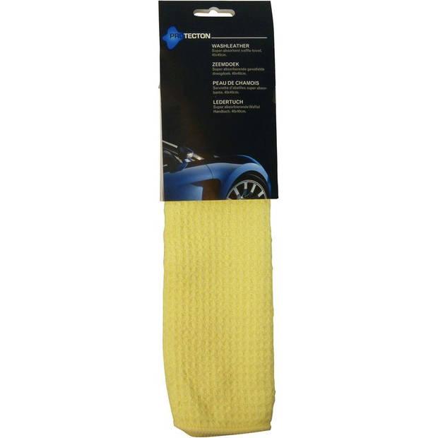 Protecton zeem 40 x 40 cm synthetisch geel
