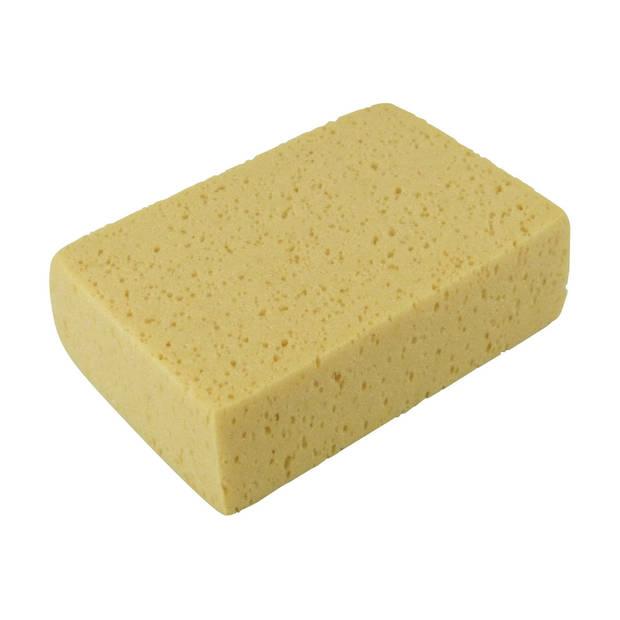 Protecton spons 18 x 12 x 6 cm geel