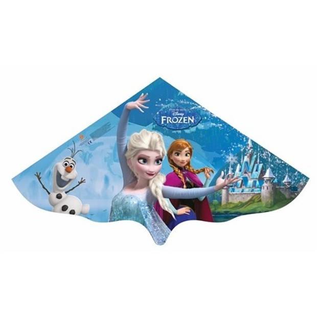 Günther eenlijnskindervlieger Frozen Elsa en Anna 115 cm blauw